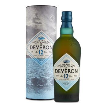德弗伦(DEVERON )洋酒 12年单一麦芽威士忌 700ml