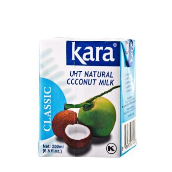 印尼进口kara佳乐椰浆200ml椰汁西米露甜品原材料