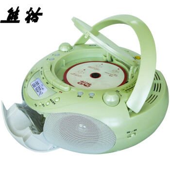 熊猫(PANDA)CD-850CD播放机 英语复读学习机 磁带机 录音机 DVD插卡音响 收录机 收音机 胎教机(绿色)