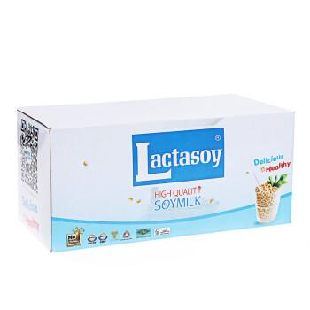 力大狮 Lactasoy 黄豆味豆奶 125ml*6盒 泰国进口 营养早餐 豆奶