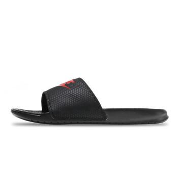 耐克NIKE2017新款男鞋拖鞋运动休闲运动鞋343880-090 R 343880-060黑+挑战红 42.5