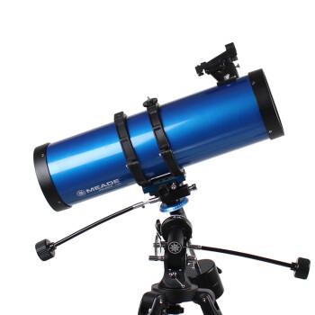 米德(MEADE)130EQ超大口径正像观景观天2用高清高倍专业观星学生专业天文望远镜 套装六:标配+礼品+接手机+接电脑200万+接单反