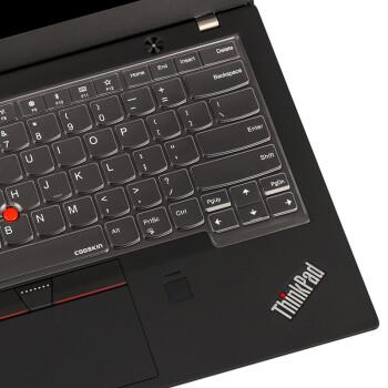酷奇ThinkPad X1 CARBON 2019 2018笔记本电脑键盘保护贴膜S2 透明银粒子