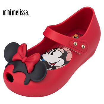 Mini Melissa 梅丽莎 Ultragirl 迪士尼儿童果冻鞋香香鞋 31945 红色 25/26