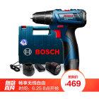 博世(BOSCH)GSR 120-Li 双电版12V锂电手电钻电动螺丝刀 家用多功能充电式电钻