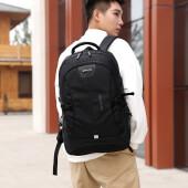 妙蓝电脑包男2019双肩包男士背包学生书包USb充电包