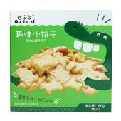 儿童动物卡通饼干 婴幼儿零食饼干80g