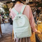 谦卦夏季新品书包女中学生韩版学院风背包