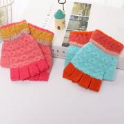 冬季保暖儿童针织手套
