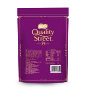 雀巢Nestle凯利恬Quality Street花街草莓香草味夹心巧克力114g休闲糖果零食