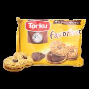 【下单立减10元】土耳其进口营养早餐夹心饼干244g*3袋糕点零食 约192枚 巧克力夹心