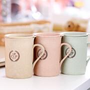 小麦秆创意咖啡杯麦纤维秸秆水杯马克杯子