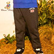 精典泰迪 Classic Teddy 儿童运动裤 加绒款 *3件 104.79元包邮(合34.93元/件)