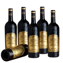 【正品好物】法国进口AOP级14度干红葡萄酒 整箱6瓶