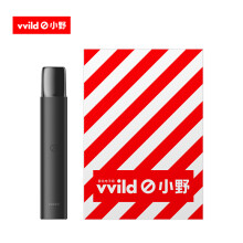 vvild小野  V1雾化电子烟套装(1烟杆+3烟弹)雾化换弹小烟蒸汽烟 便携式充电【碳黑色】