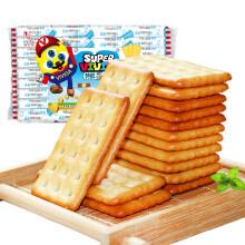 倍之味 特鲜炼奶起士味饼干 520g/袋  折5.18元