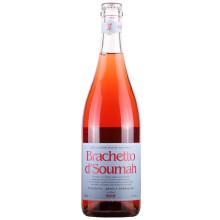 Brachetto d'Soumah 索玛庄园 布拉凯多低泡红葡萄酒2016 750ml *2件    118元包邮(2件5折),赠4000京豆