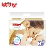 Nuby 努比 臻享丝柔系列 婴儿纸尿裤 M38片