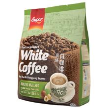 超级(super)榛果味三合一炭烧白咖啡 马来西亚进口 540g(36g*15包)