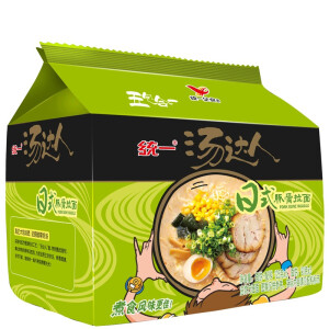 Tongyi 统一 汤达人 三口味 125g*5包