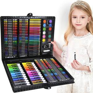 【画画神器】生日礼物送儿童3-12岁美术绘画套装168件