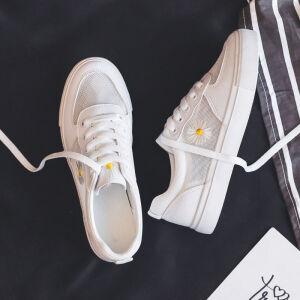 【抖音同款】Piruity2020夏透气网面小白鞋