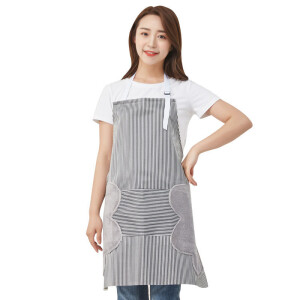 厨房可擦防水防油围裙
