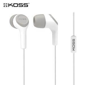 高斯(KOSS) KEB15iW 时尚入耳式耳塞 带麦 白色58元