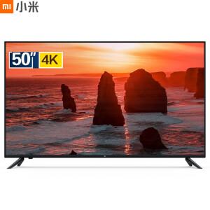 小米电视4C 50英寸 L50M5-AD 2GB+8GB HDR 4K超高清 蓝牙语音 人工智能电视