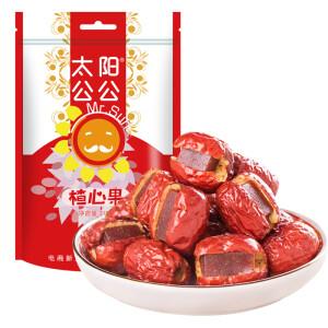 太阳公公 红枣夹山楂条218g/袋