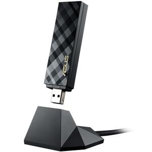 华硕/ASUS USB-AC55 USB 3.0 千兆无线网卡 1300M AC双频