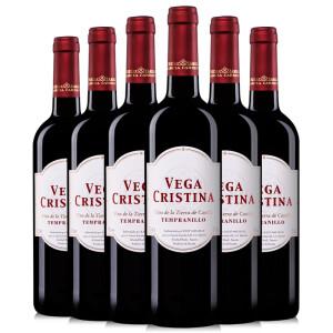 维伽·科丽斯纳 红葡萄酒 750ml*6瓶 75.9元,可多重优惠