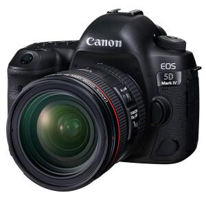 23日8点: Canon 佳能 EOS 5D Mark IV 单反套机(EF 24-70mm f/4L IS USM镜头) 22999元包邮