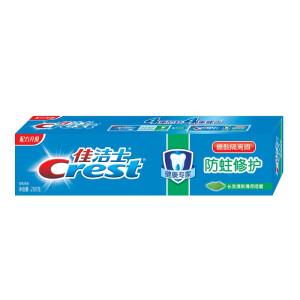 Crest佳洁士   防蛀修护牙膏(晶莹薄荷)200g 折6.84元