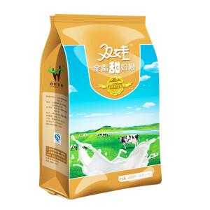 双娃 全脂甜 成人奶粉    400g袋(16小袋)9.9元