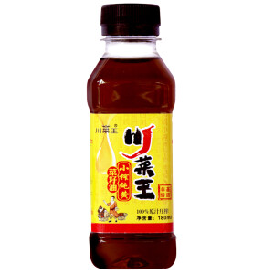 部分地区 川菜王 菜籽油180ML