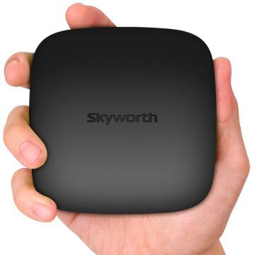 创维(Skyworth) T2智能网络电视机顶盒4核16G闪存 安卓电视盒子高清播放器无线wifi