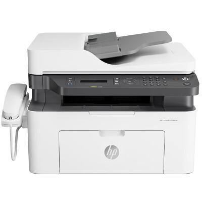 惠普 (HP) 138pnw 锐系列新品激光多功能一体机四合一打印复印扫描传真自动进稿器 1216nfh升级网络无线版