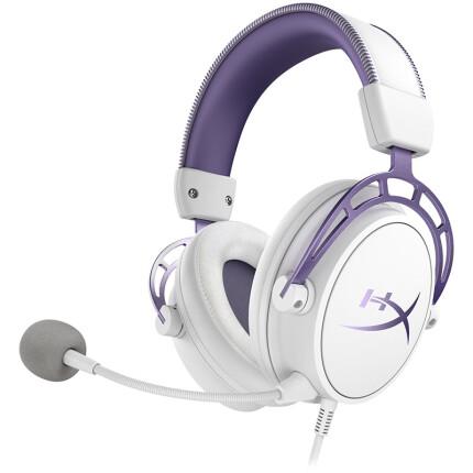 金士顿(Kingston) HyperX 阿尔法 紫晶版限定款 双音腔 专业电竞耳机