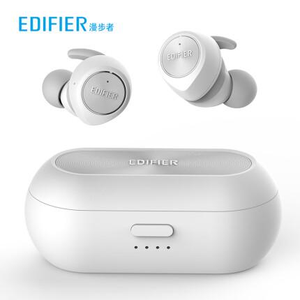 漫步者(EDIFIER)TWS3 真无线蓝牙耳机 运动耳机 迷你入耳式手机耳机 通用苹果华为小米手机 白色