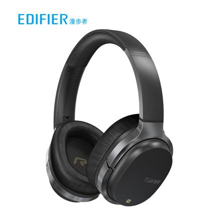 漫步者(EDIFIER) W860NB复合式主动降噪头戴蓝牙耳机 黑色