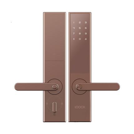 鹿客 LOOCK T1-pro 指纹锁智能锁 家用防盗门智能门锁密码锁电子锁 手机App远程控制撬锁电话报警