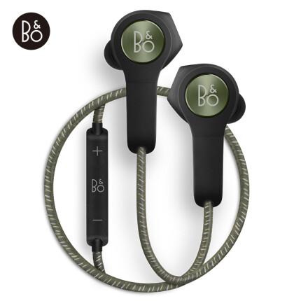 B&O PLAY beoplay H5 入耳式蓝牙无线耳机 磁吸运动耳机 手机游戏耳机 跑步带麦可通话 橄榄绿色