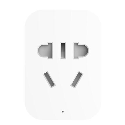 米家(MIJIA)米家智能插座 (ZigBee版) 实际功率检测 耗电量统计 过载保护 定时开关 APP远程控制