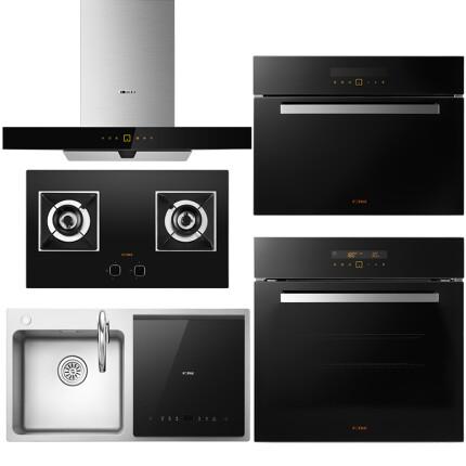 方太(FOTILE) 方太 EMD2T+HC26BE+E2系列蒸箱烤箱+X1水槽洗碗机