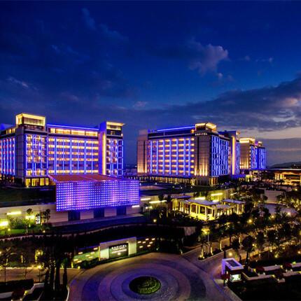 酒店特惠:三亚海棠湾索菲特酒店豪华海景房2-5晚住宿(含双早)