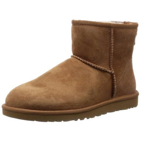 ugg专柜_全球购UGG Classic Mini Boot 新款女冬季保暖雪地靴专柜 标准39/US8 ...
