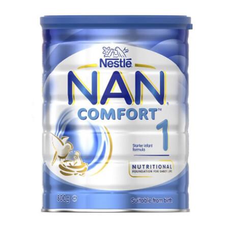 【澳洲药房空运直邮】NAN舒适能恩配方奶粉 800g 一段
