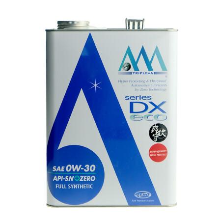 海囤全球 日本原装进口 AAA 全合成铁罐机油 0W30 SN 4L