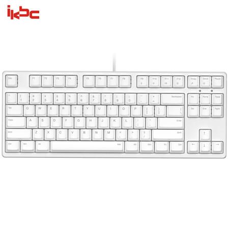 kbc C87 机械键盘 有线键盘 游戏键盘 87键 原厂cherry轴
